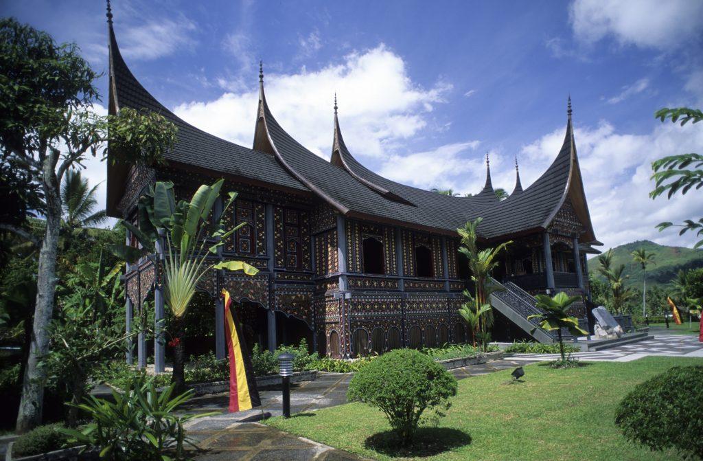 Minangkabau, Pagaruyung Royal Palace, West Sumatra, Indonesia