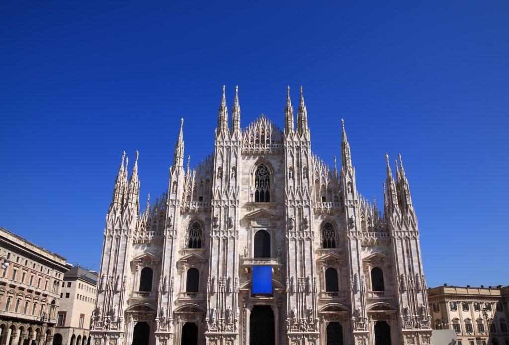 Milan (italy) The Cathedral, Facade